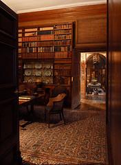 Dyrham Park library