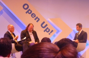 Michael Anderson and Ethan Zuckerman at Open Up!