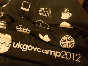 GovCamp 2012 t-shirt